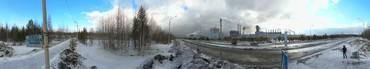Панорама Усть-Илимский ЛПК